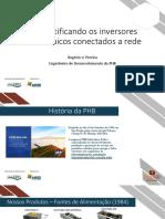 Desmistificando Inversores Fotovoltaicos Conectados a Rede