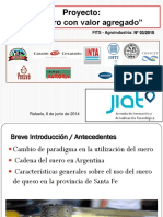 Proyecto Ecosuero Modelo Agregado Valor Lactosuero Pymes