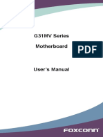 Foxconn g31mv Manual