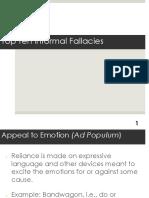 Logic Top Ten Fallacies 13-14.ppt