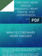 Chd, Rhd, Hypertension