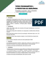 02 - CONTEÚDO PROGRAMÁTICO