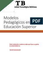 Modelos Pedagógicos 1ra. Clase