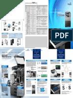 Sindoh N610 N611 N612 N613 Brochure