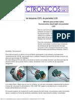 Probador de Lámparas CCFL, Back-ligth de Pantallas LCD