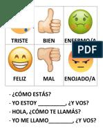 Emojis Spanish Lesson