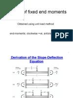 Slope Deflection