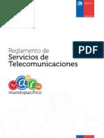 Reglamento telecomunicaciones