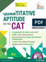 CAT Quantitative Aptitude -Nishit Sinha (Www.sarkaripost.in)