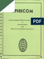 Complete Spiricom Tech Manual Searchable