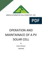 Green Alternative Solutions Pvt. Ltd. Internship Report
