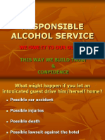 Responsible Alcohol Service