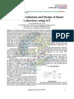 Innovative Realisation and Design of Smart Laboratory Using IoT