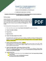 Amity university Summer Internship Guidelines 2016-20 (1)