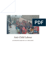 Anti Child Labour