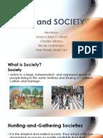 Man and Society