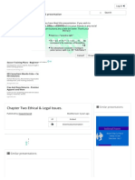 Chapter Two Ethical & Legal Issues. - Ppt Video Online Download
