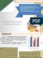 OBESITAS PADA REMAJA (Pengaruh Fast Food Terhadap Remaja)
