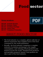 Ratio Analysis (FOOD Sector)