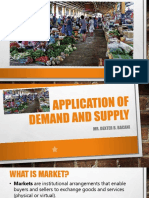 4. Application of Demand and Supply