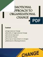Emotional Approach to Organizational Change