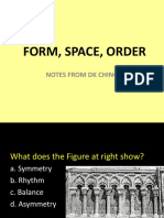 Form space order
