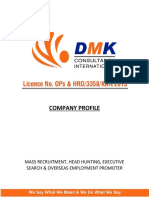 DMK Consultancy Profile