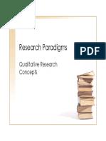 MODULE 06 - 03_Research Paradigms
