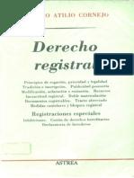 Derecho Registral - Américo Atilio Cornejo