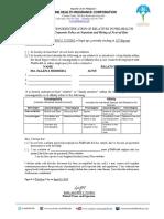 Sworn Declaration of Relatives EARL (1)