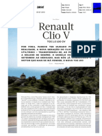"NOVO RENAULT CLIO TCe 100 NA ""AUTODRIVE"""