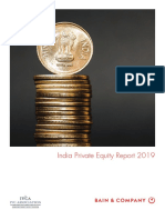 Bain Report India Private Equity Report 2019