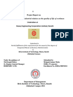 A Project Report on Analysis of Effect o