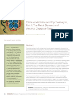 Lonny S. Jarrett, Chinese Medicine and Psychoanalysis, Part II