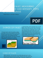 3 Kinds of Fault, Measuring Earthquake And