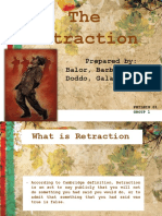 Retraction of Rizal