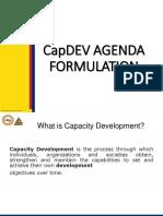 Session 19 Intro to CapDev Agenda Prep