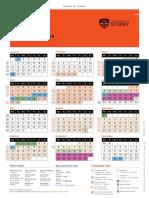 Student Wall Calendar