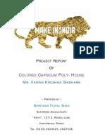 Capsicum Polyhouse - Vaman Shikhare
