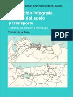 MOdelacion Integrada del uso del suelo y transporte