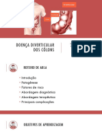 doença diverticular do colon SLIDE