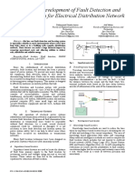 Design and Development of Fault Detection and Location System for Electrical Distribution Network
