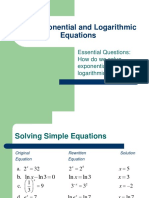 5.4_Exponential_and_Logarithmic_equations.ppt