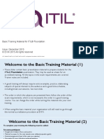 EXIN Basic Training Material ITIL