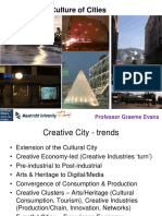 Remaking the Culture of Cities Professor