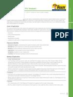 Sikaflex 11FC - PDS | Concrete | Duct (Flow)