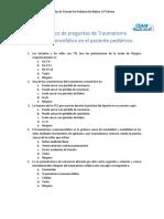 30 Traumatismo Craneoencefálico en El Paciente Pediátrico.