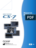 CS-7 Operation Manual v130 Spanish