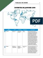 Decouvertes Janvier 2019