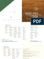 MIT Wind Ensemble & MIT Festival Jazz Ensemble - Infinite Winds - 1400Booklet_RR